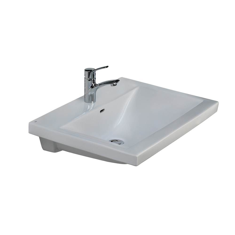 Barclay Mistral 510 Wall-Hung Basin1-Hole, White