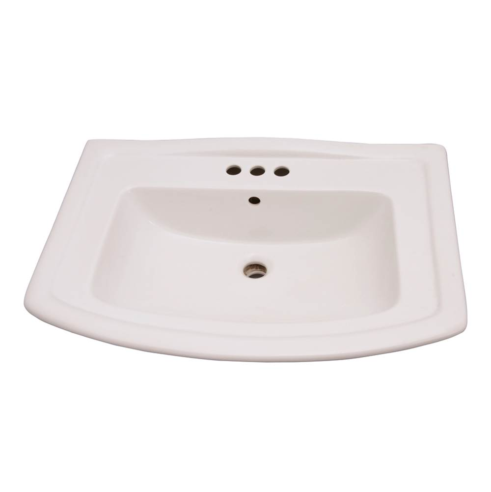 Barclay Washington 765 Washbasin, 4''cc , White