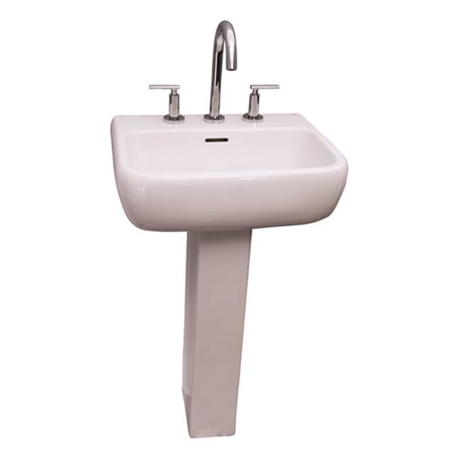 Barclay Metropolitan 520 Basin 1 hole - White