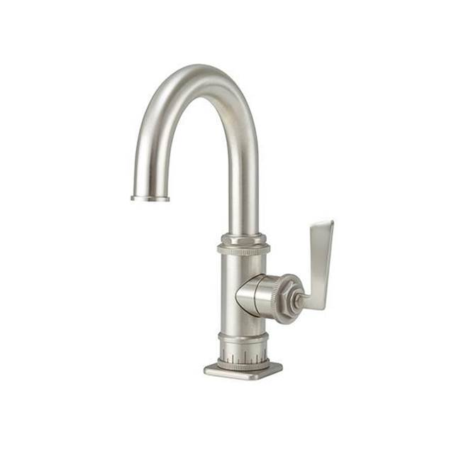California Faucets Single Hole High Spout Lavatory/Prep/Bar Faucet  with 2-1/4'' flange ZeroDrain®