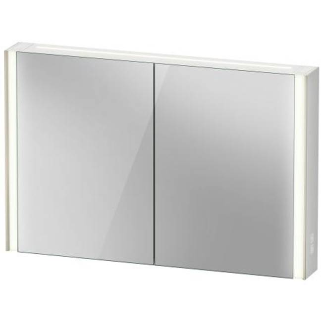 Duravit Duravit XViu Mirror Cabinet with lighting  Champagne Matte