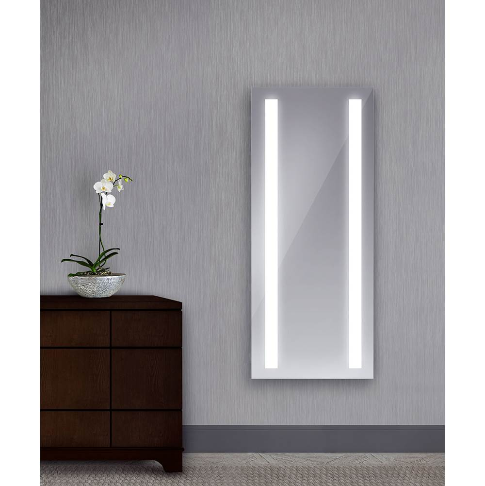 Electric Mirror Wardrobe Fusion 26w x 60h Lighted Mirror with Ava