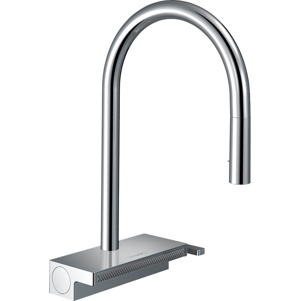 Hansgrohe Aquno Select Higharc Kitchen Faucet, 3-Spray Pull-Down With Sbox, 1.75 Gpm In Chrome