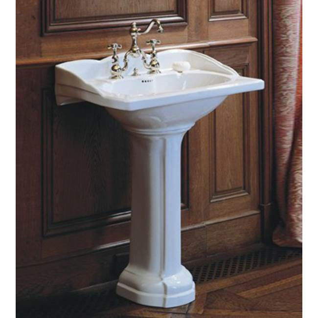 Herbeau ''Empire'' Washbasin Only in Berain Bleu, 3 Hole