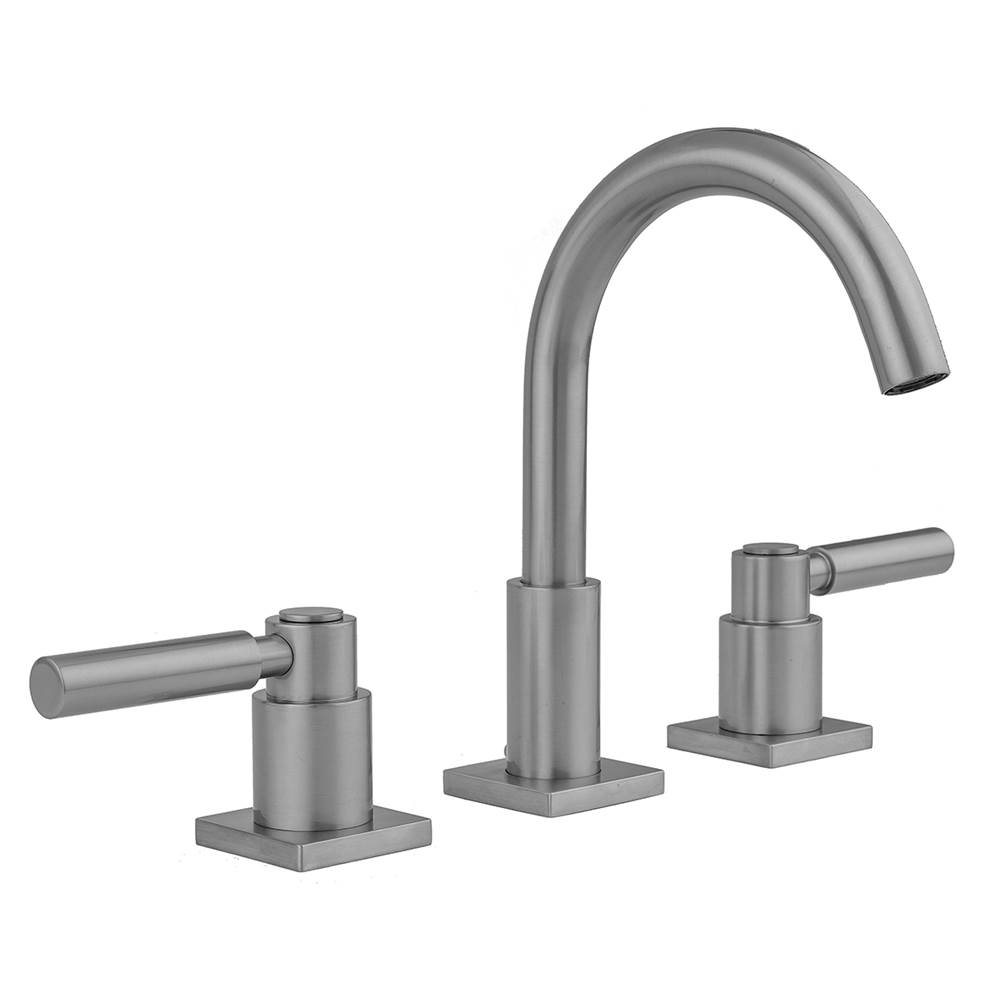 Jaclo Uptown Contempo Faucet with Square Escutcheons and Lever Handles -1.2 GPM
