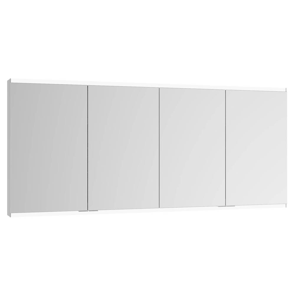 KEUCO Royal Modular 2.0 63'' Mirror Cabinet In Aluminum