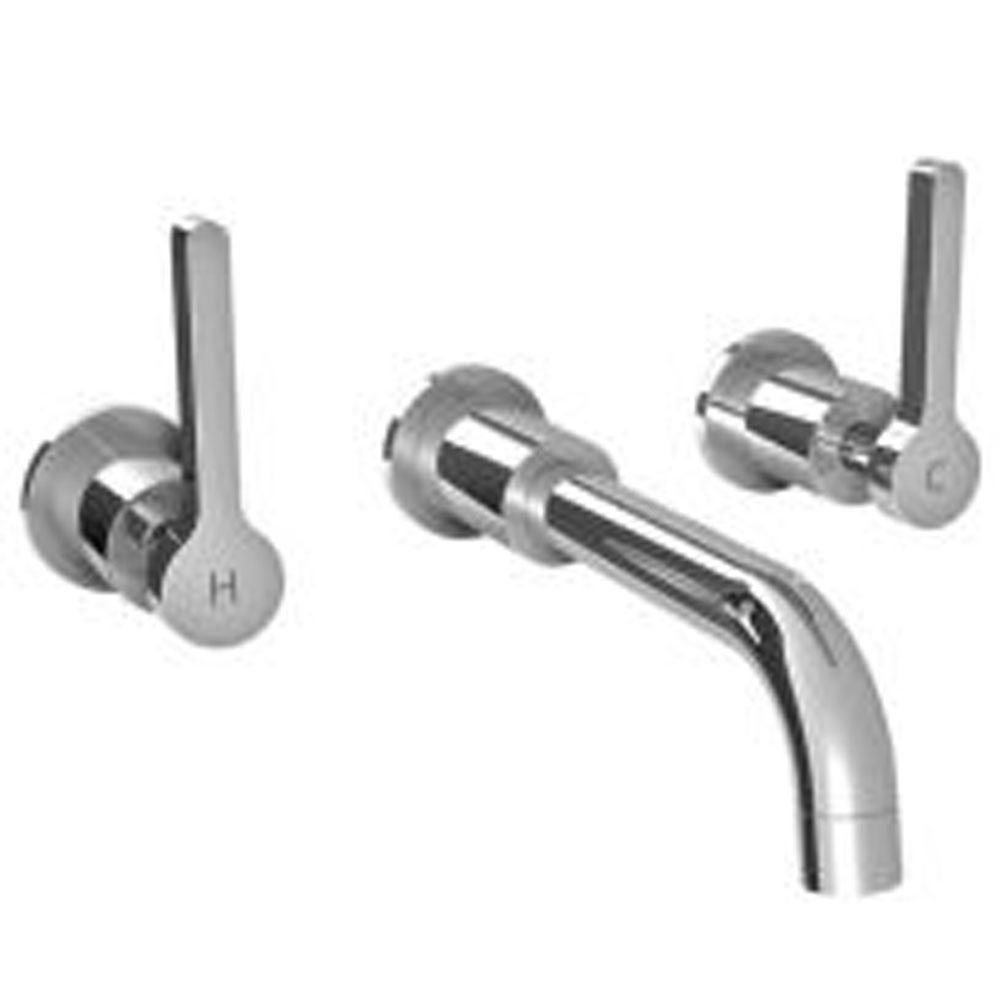 Lefroy Brooks Kafka Lever Wall Mounted Basin Mixer Trim To Suit R1-4016 Rough, Polished Chrome
