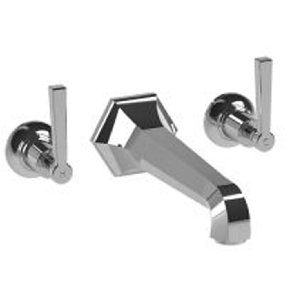 Lefroy Brooks Mackintosh Lever Wall Mounted Bath Filler Trim To Suit R1-4036 Rough, Polished Chrome