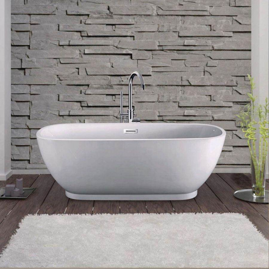 Maidstone Lana 66 Inch Acrylic Contemporary Double Ended Tub