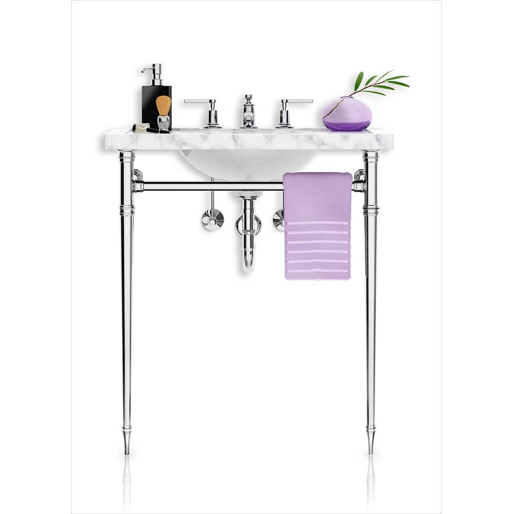 Palmer Industries Essex Vanity Console - 2 Leg Configuration