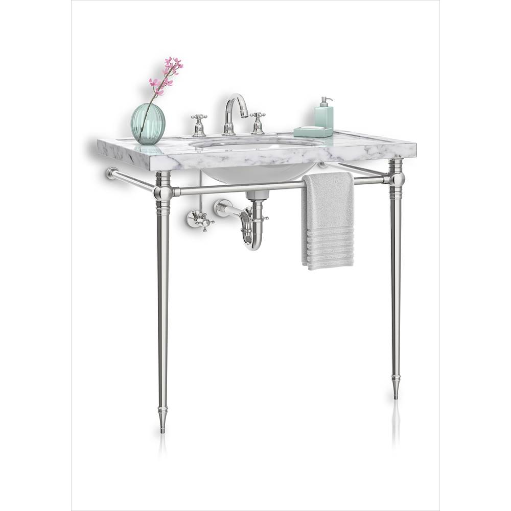 Palmer Industries Kingston Vanity Console - 2 Leg Configuration