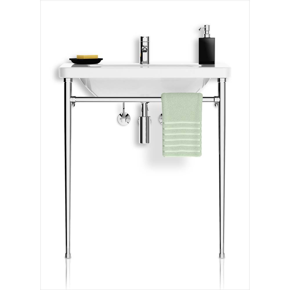 Palmer Industries Minimal Vanity Console - 2 Leg Configuration
